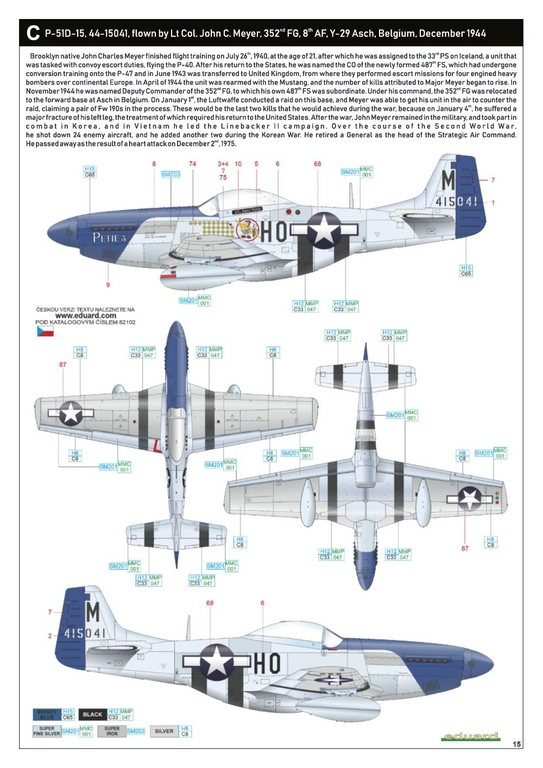 Eduard-82102-P-51D-ProfiPack-33 P-51D Mustang im neuen Profi-Pack von Eduard in 1:48 #82102