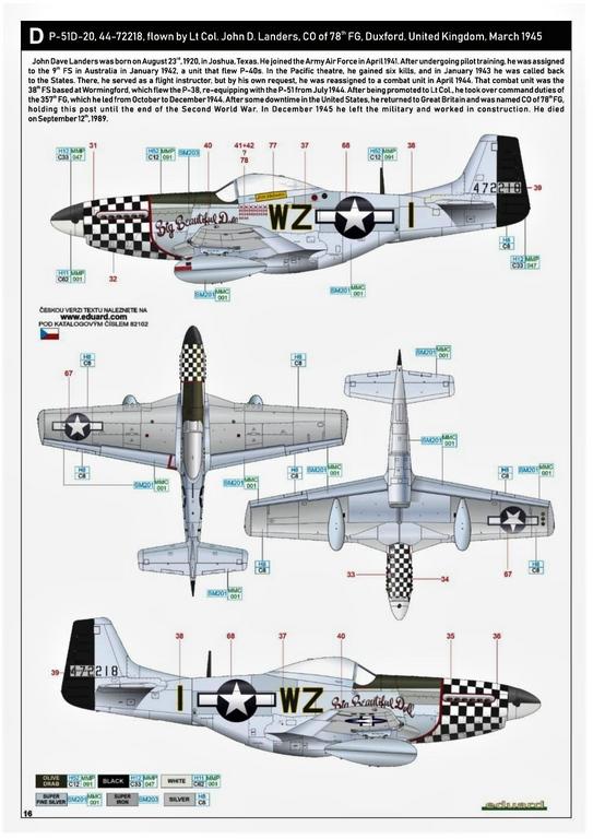 Eduard-82102-P-51D-ProfiPack-34 P-51D Mustang im neuen Profi-Pack von Eduard in 1:48 #82102