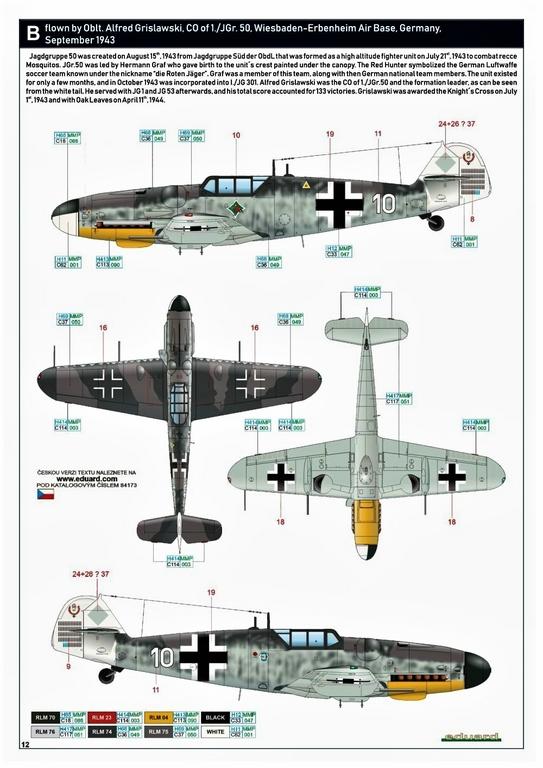 Eduard-84173-Bf-109-G-6-WEEKEND-17 Bf 109G-6 in neuer Weekend-Edition von Eduard in 1:48 #84173