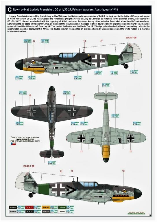 Eduard-84173-Bf-109-G-6-WEEKEND-18 Bf 109G-6 in neuer Weekend-Edition von Eduard in 1:48 #84173