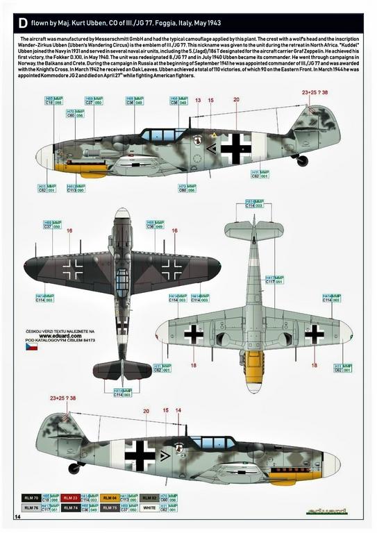 Eduard-84173-Bf-109-G-6-WEEKEND-19 Bf 109G-6 in neuer Weekend-Edition von Eduard in 1:48 #84173