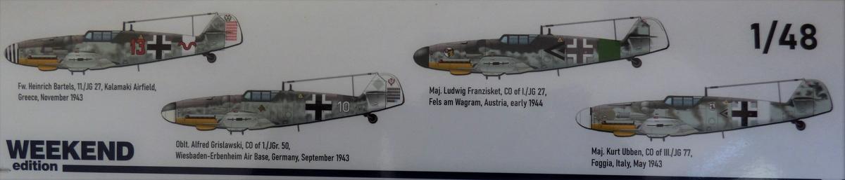 Eduard-84173-Bf-109-G-6-WEEKEND-2 Bf 109G-6 in neuer Weekend-Edition von Eduard in 1:48 #84173