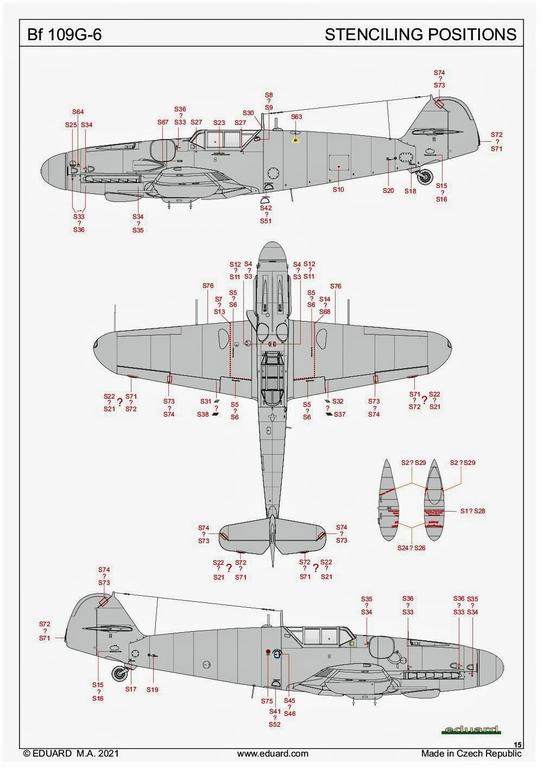 Eduard-84173-Bf-109-G-6-WEEKEND-20 Bf 109G-6 in neuer Weekend-Edition von Eduard in 1:48 #84173
