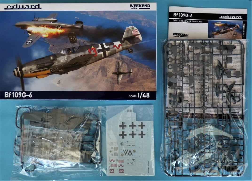 Eduard-84173-Bf-109-G-6-WEEKEND-3 Bf 109G-6 in neuer Weekend-Edition von Eduard in 1:48 #84173