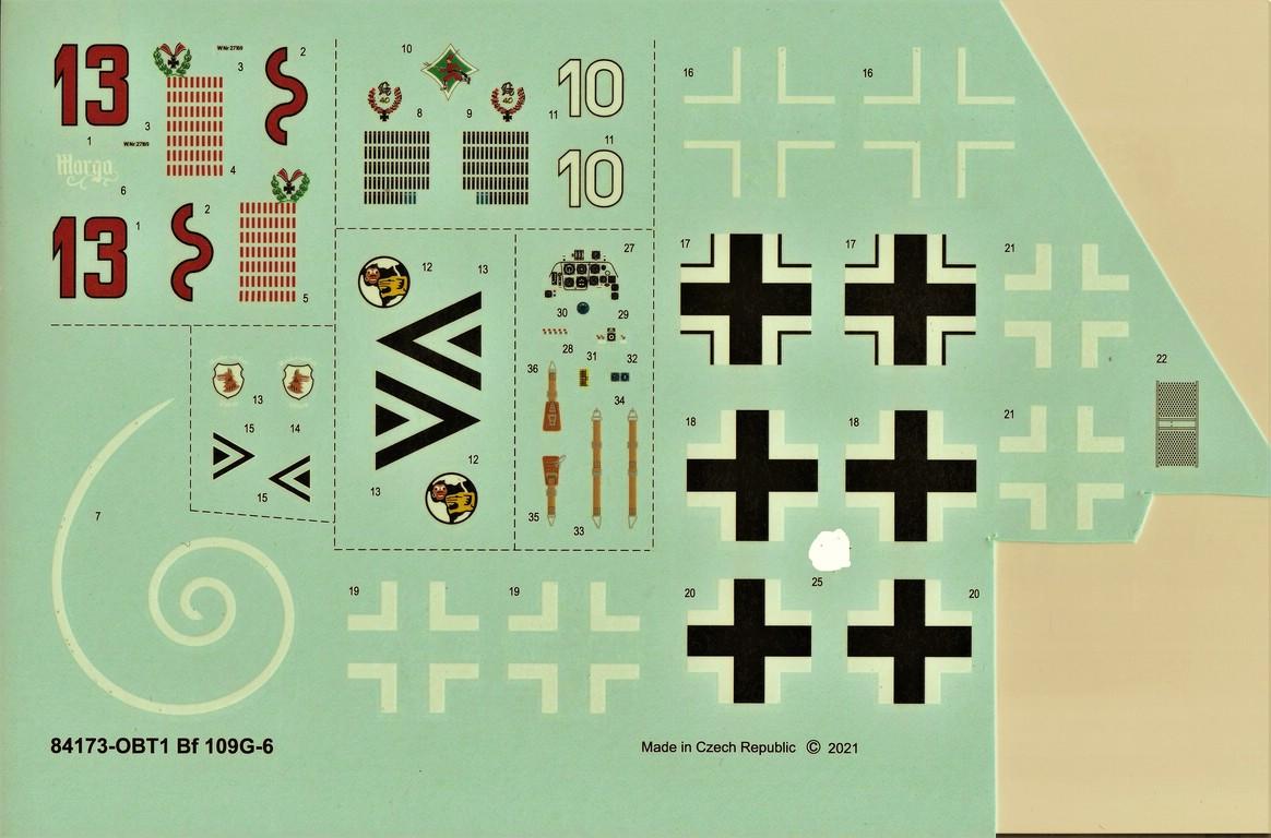 Eduard-84173-Bf-109-G-6-WEEKEND-4 Bf 109G-6 in neuer Weekend-Edition von Eduard in 1:48 #84173