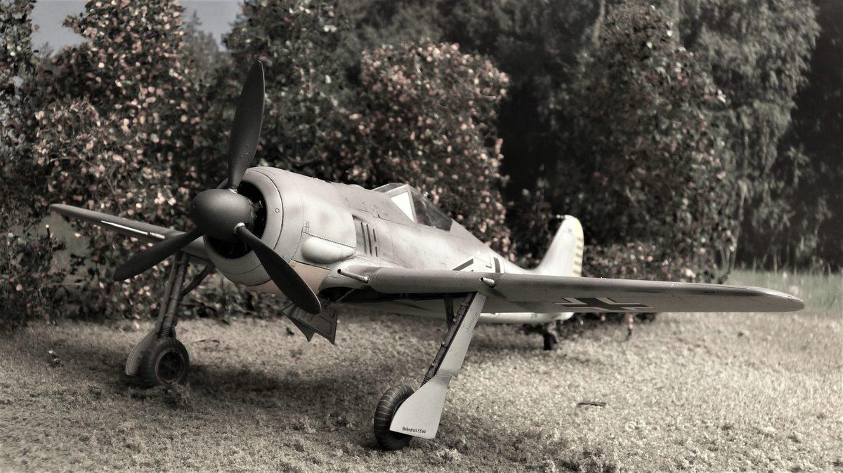 Eduard-FW-190-A-3-gebaut-13 Gebaut: Focke-Wulf FW 190A-3 in 1:48 von Eduard