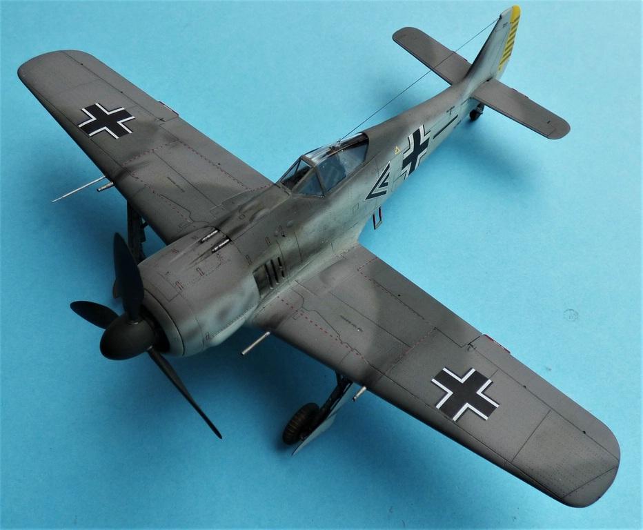 Eduard-FW-190-A-3-gebaut-2 Gebaut: Focke-Wulf FW 190A-3 in 1:48 von Eduard