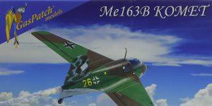 Messerschmitt Me 163B Komet in 1:48 von GasPatch