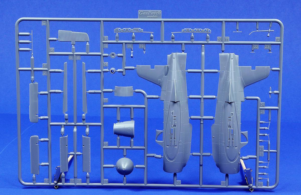 GasPatch-48236-Me163-Komet-17 Messerschmitt Me 163B Komet in 1:48 von GasPatch