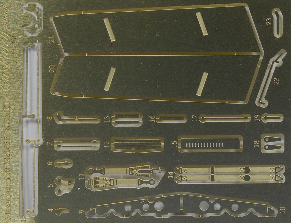 GasPatch-48236-Me163-Komet-49 Messerschmitt Me 163B Komet in 1:48 von GasPatch