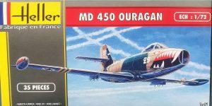 MD 450 Ouragan in 1:72 von Heller #56201