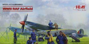 RAF Airfield WW II in 1:48 von ICM #DS 4802