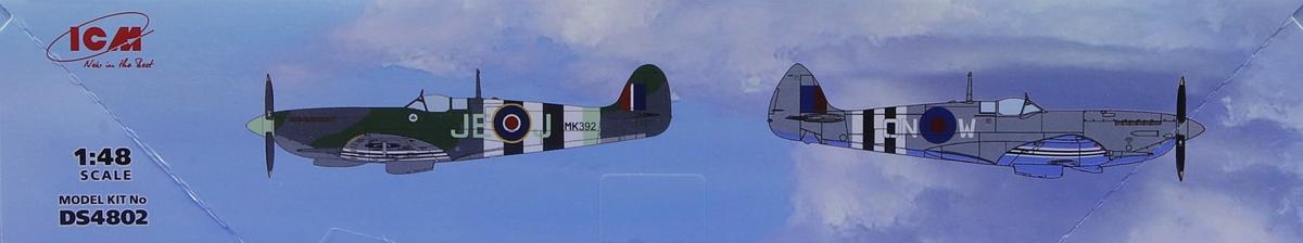 ICM-DS-4802-RAF-Airfield-WW-II-2 RAF Airfield WW II in 1:48 von ICM #DS 4802