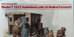 Model T 1917 Ambulance with US Medical Personal von ICM in 1:35