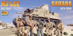 Demnächst bei eurem Händler: M3 Lee SAHARA mit Figuren von MiniArt