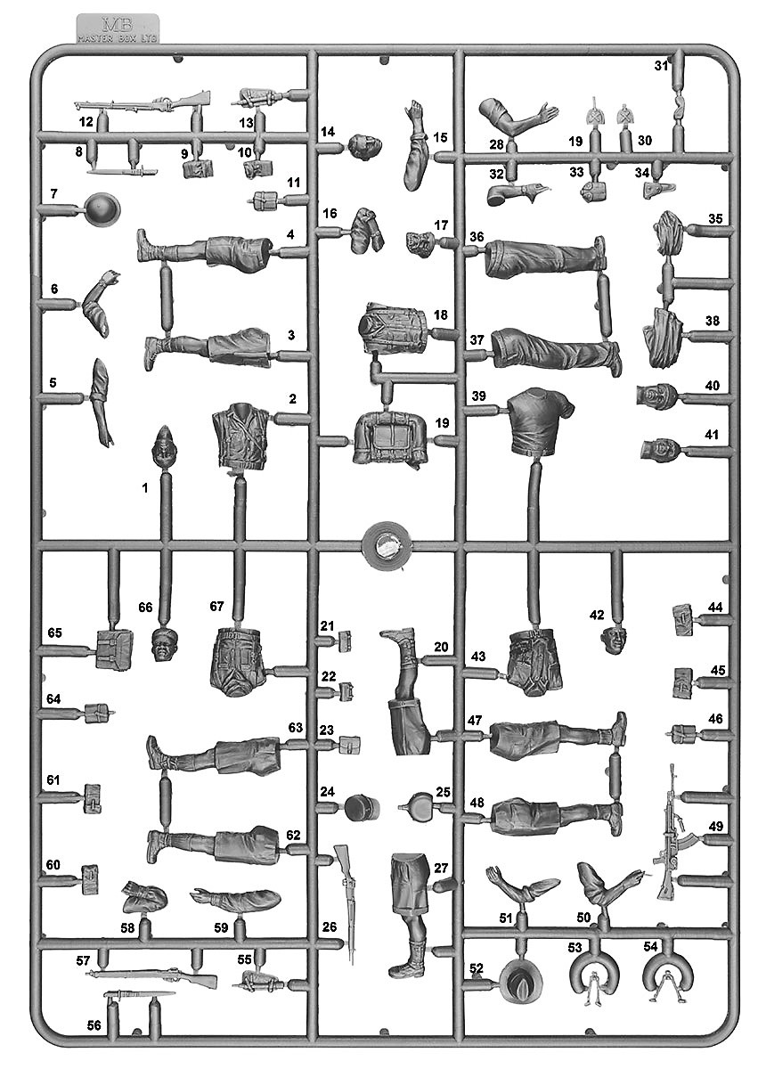 MiniArt-35274-M3-Lee-SAHARA-34 Demnächst bei eurem Händler: M3 Lee SAHARA mit Figuren von MiniArt