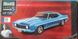 """Revell 1969 Camaro """"Fast & Furious""""in 1:24"""