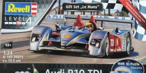 Audi R10 TDI Gift Set in 1:24 von Revell