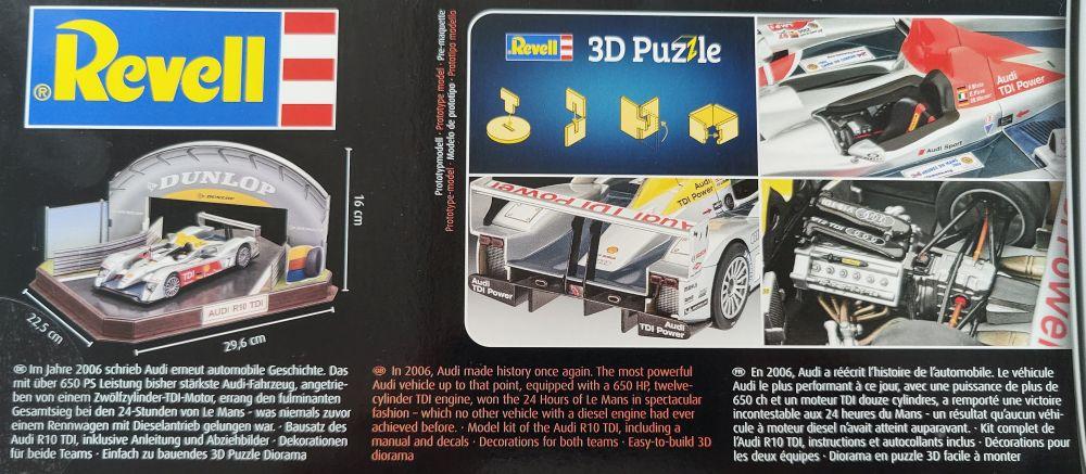 Revell_Audi_R10_giftset003 Audi R10 TDI Gift Set in 1:24 von Revell