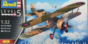 Revell Gloster Gladiator Mk.II in 1:32