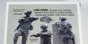 Modern Russian Army AV or truck driver  – Live Resin 1/35 – #LRM35060