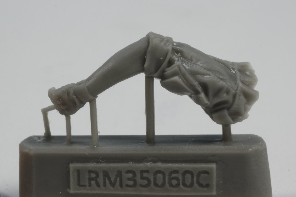 Review_LR_Russian_Driver_1__10 Modern Russian Army AV or truck driver  - Live Resin 1/35 - #LRM35060