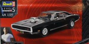 '70 Dodge Charger (Fast & Furious) – Revell 1/24 — #07693