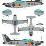 Special-Hobby-72433-SIAI-Marchetti-SF-260-Late-bulged-Canopy-Bauanleitung-8-150x150 SIAI Marchetti SF 260 Late Bulged Canopy in 1:72 Special Hobby # SH 72433