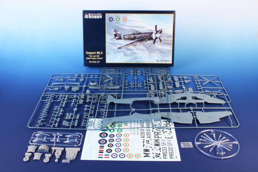 Special-Hobby-SH48214-Tempest-Mk-13 Vorschau: Die neue Tempest Mk. II in 1:48 von Special Hobby # 48214