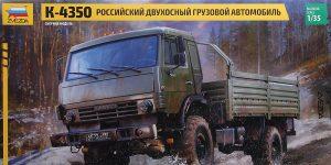 Kamaz K 4350 in 1:35 von Zvezda #3692