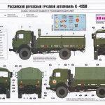 Zvezda-3692-Kamaz-K-4350-55-150x150 Kamaz K 4350 in 1:35 von Zvezda #3692