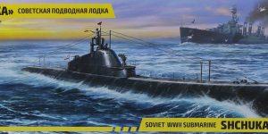 Soviet Shchuka Class Submarine in 1:144 von Zvezda #9041