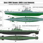 Zvezda-9041-Shchuka-Class-U-Boot-22-150x150 Soviet Shchuka Class Submarine in 1:144 von Zvezda #9041