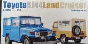 Italeri Toyota BJ44 Land Cruiser in 1:24