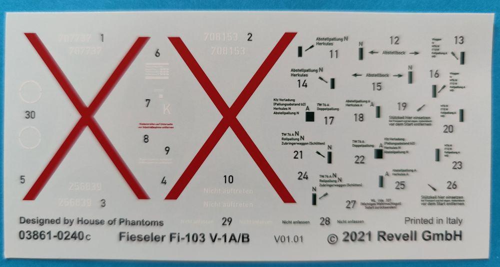 re3vell_fieseler_v1001 Revell Fieseler Fi103 A/B (V1) in 1:32