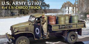 Ankündigung: U.S. ARMY G7107 4X4 1,5t CARGO TRUCK Miniart (#35380)