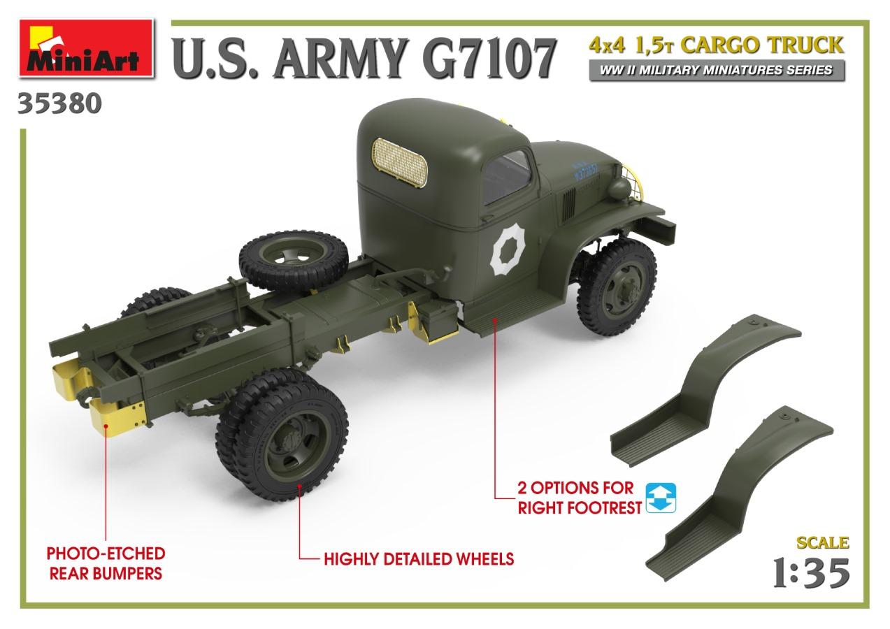 35380_promo-11 Ankündigung: U.S. ARMY G7107 4X4 1,5t CARGO TRUCK Miniart (#35380)
