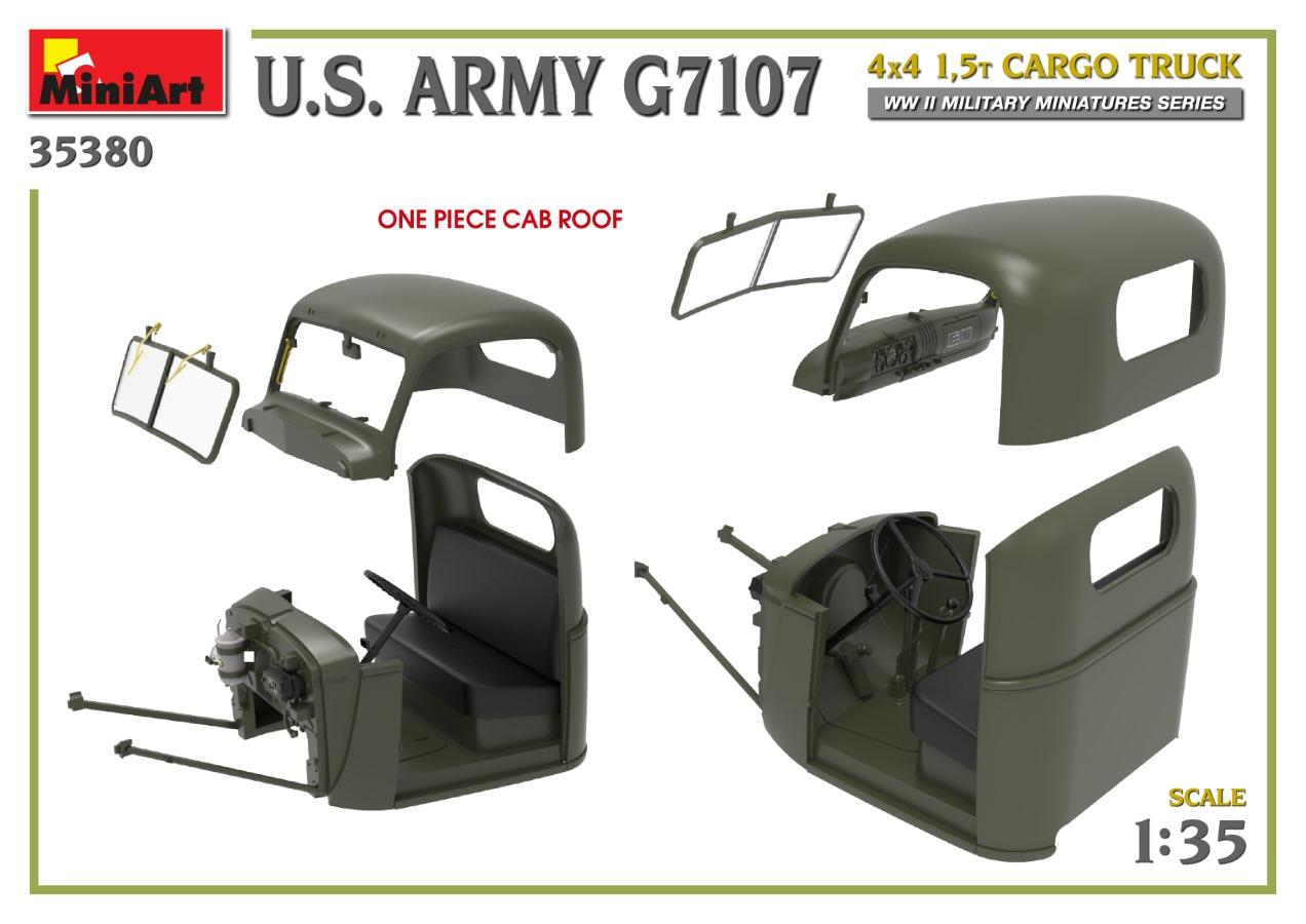 35380_promo-13 Ankündigung: U.S. ARMY G7107 4X4 1,5t CARGO TRUCK Miniart (#35380)