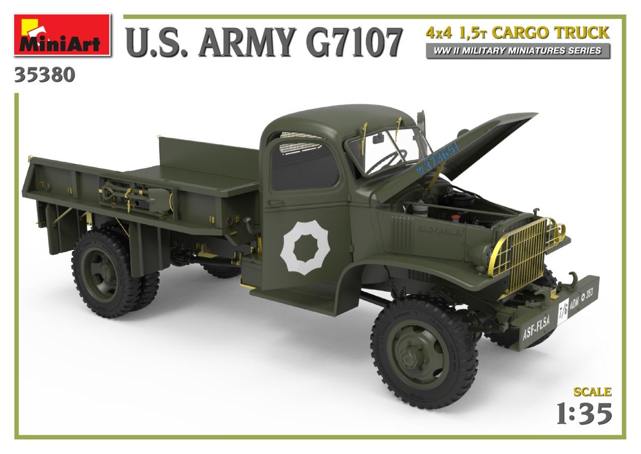 35380_promo-15 Ankündigung: U.S. ARMY G7107 4X4 1,5t CARGO TRUCK Miniart (#35380)