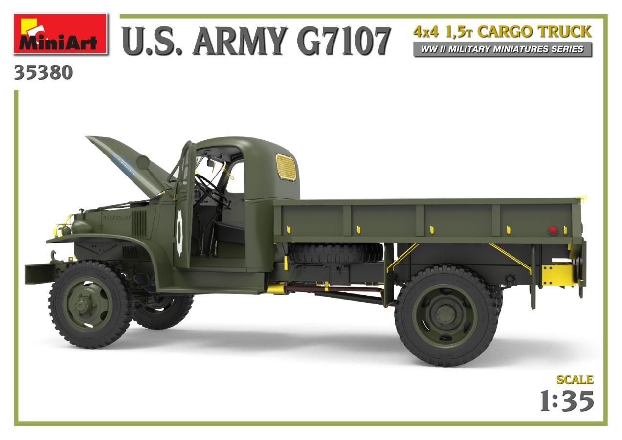35380_promo-16 Ankündigung: U.S. ARMY G7107 4X4 1,5t CARGO TRUCK Miniart (#35380)