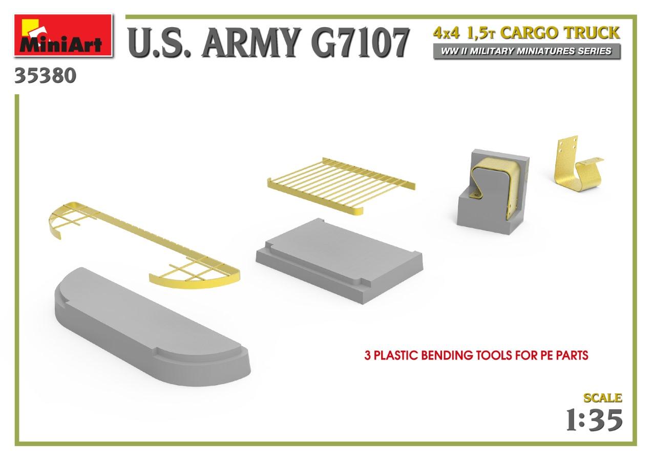 35380_promo-22 Ankündigung: U.S. ARMY G7107 4X4 1,5t CARGO TRUCK Miniart (#35380)