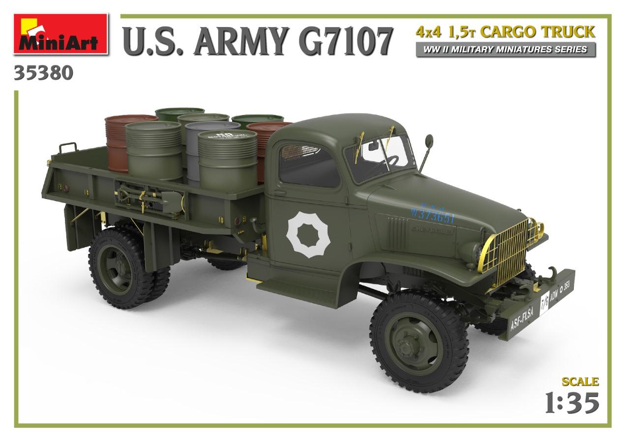 35380_promo-6 Ankündigung: U.S. ARMY G7107 4X4 1,5t CARGO TRUCK Miniart (#35380)