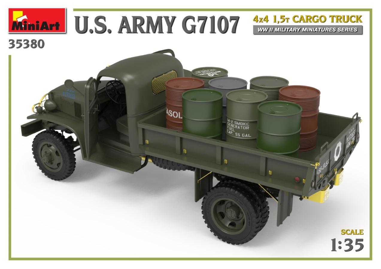 35380_promo-7 Ankündigung: U.S. ARMY G7107 4X4 1,5t CARGO TRUCK Miniart (#35380)