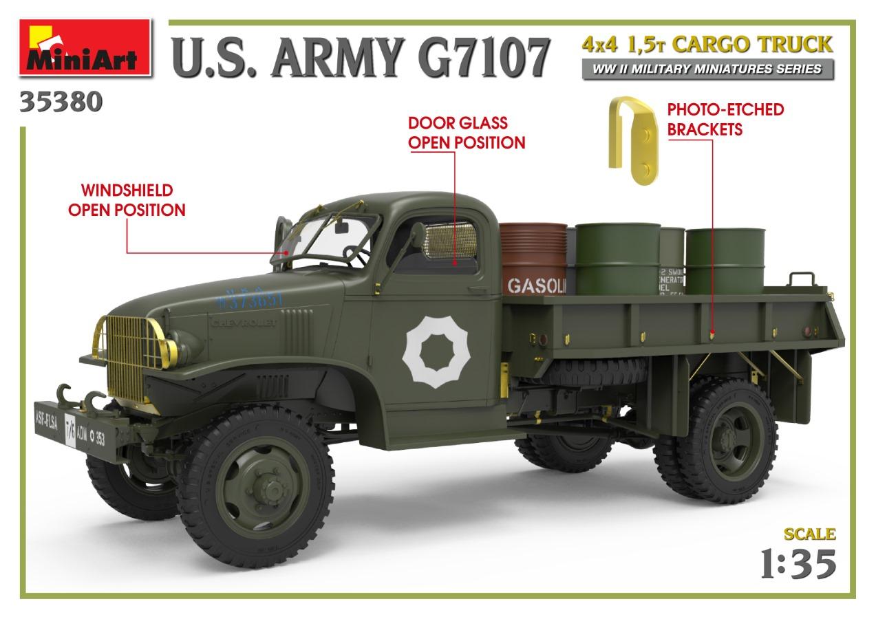 35380_promo-8 Ankündigung: U.S. ARMY G7107 4X4 1,5t CARGO TRUCK Miniart (#35380)