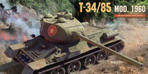Ankündigung: T-34/85 MOD. 1960 1:35 Miniart (#37089)