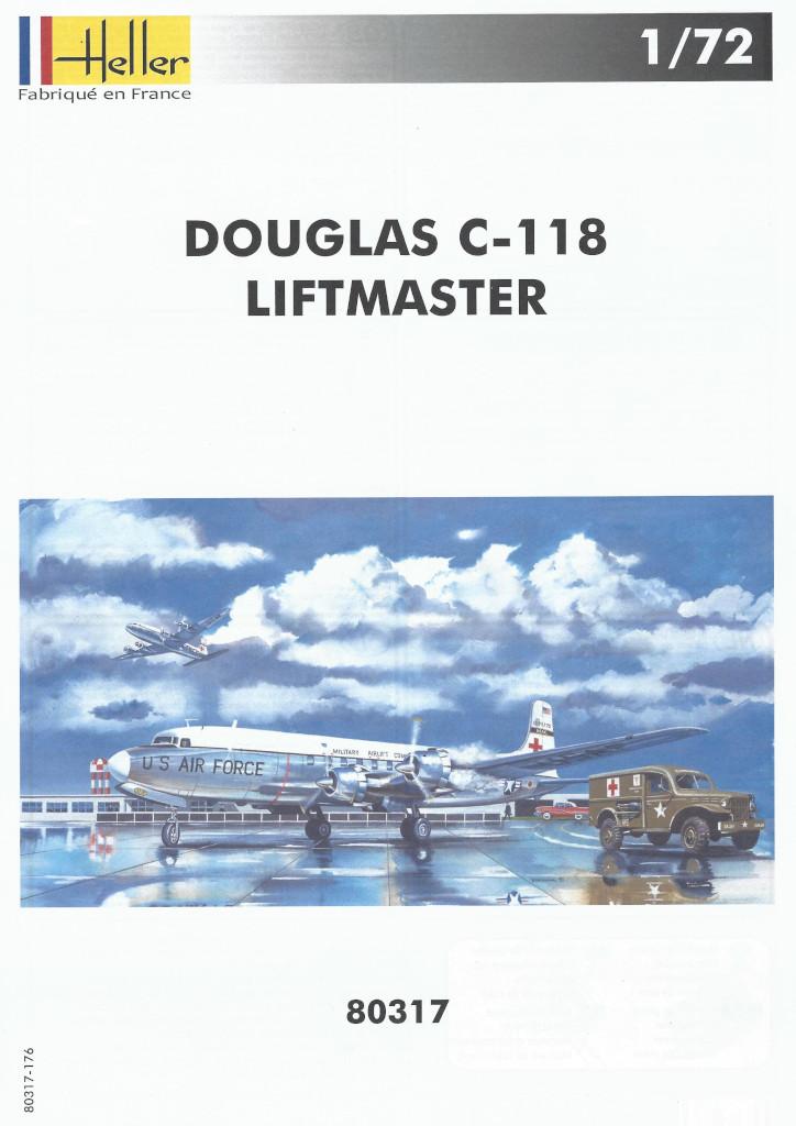 Anleitung01-1 Douglas C-118 Liftmaster 1:72 Heller (#80317)