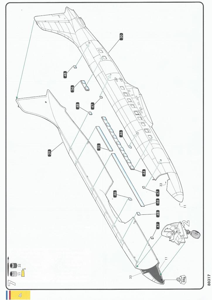 Anleitung04-1 Douglas C-118 Liftmaster 1:72 Heller (#80317)