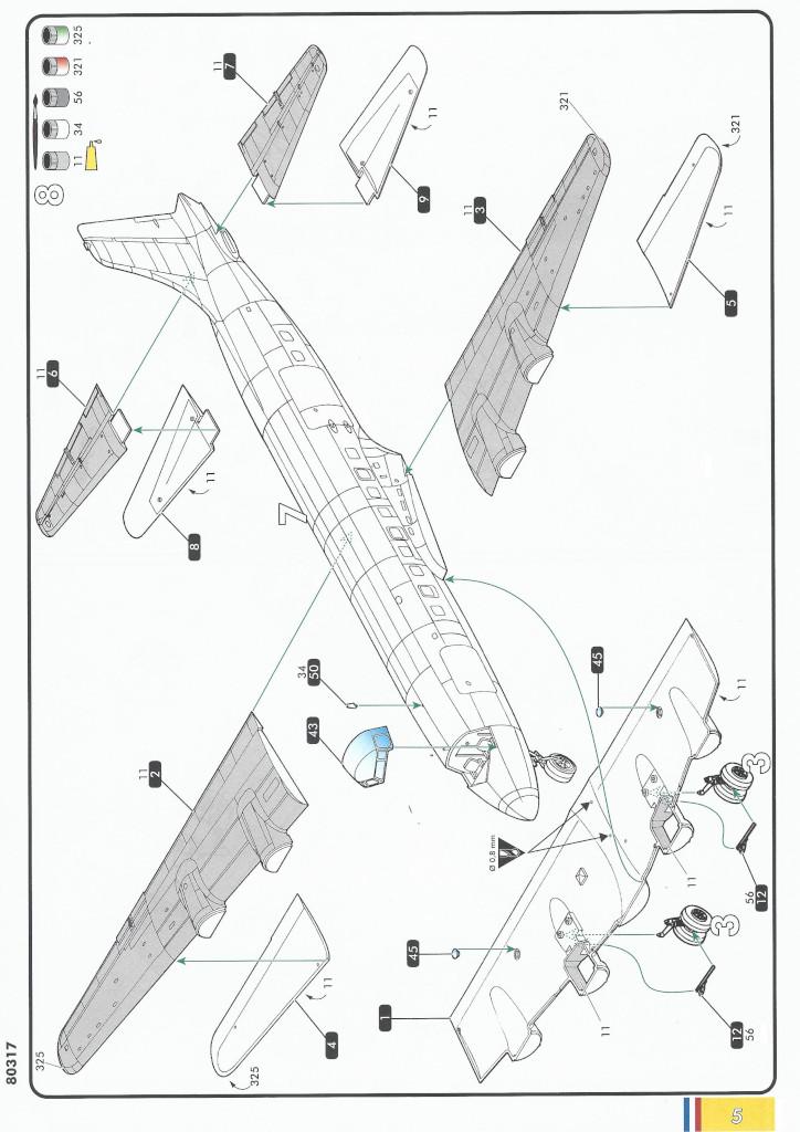 Anleitung05-1 Douglas C-118 Liftmaster 1:72 Heller (#80317)