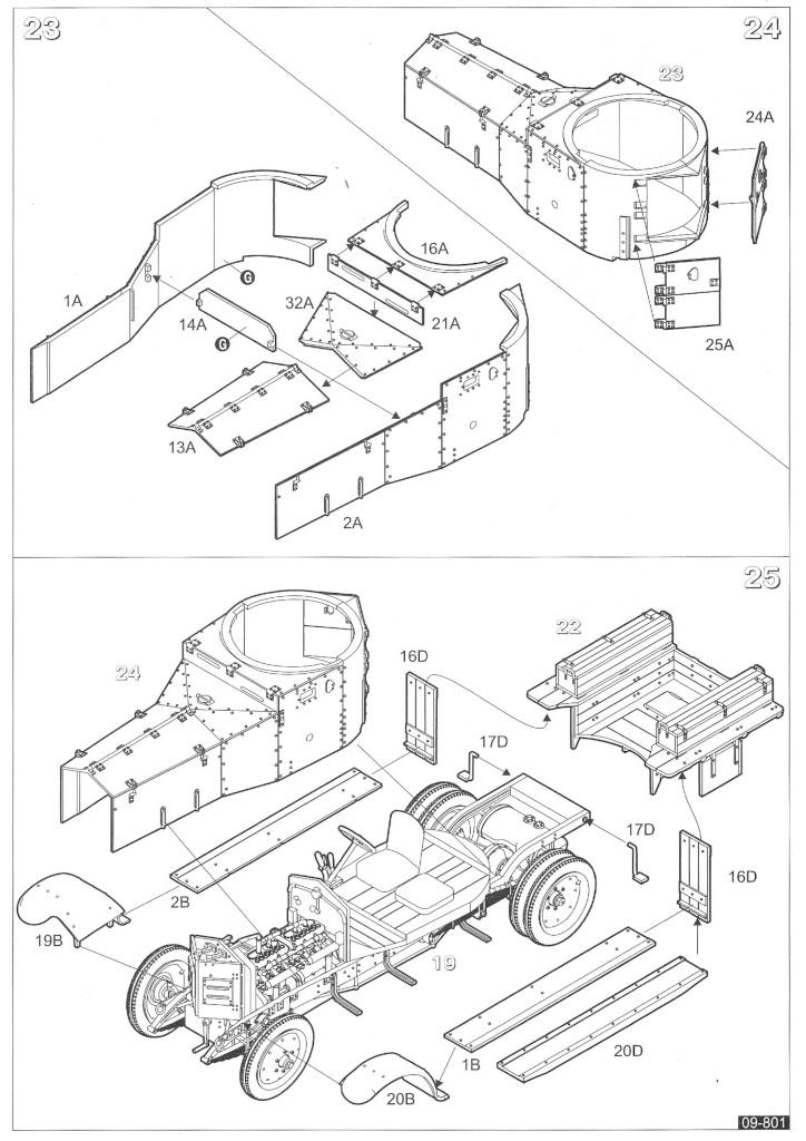 Anleitung09 WW II British Armoured Car (Pattern 1920 Mk I)