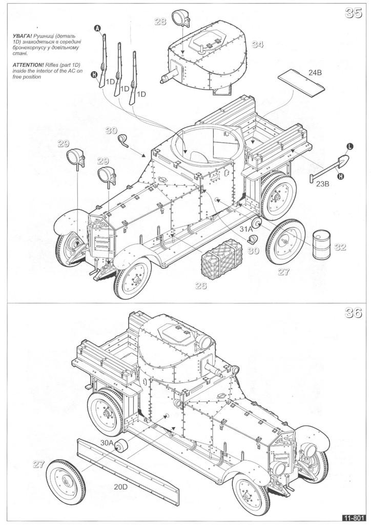 Anleitung11 WW II British Armoured Car (Pattern 1920 Mk I)